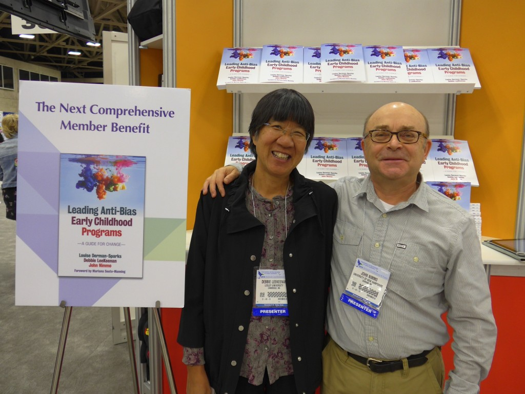 Debbie LeeKeenan and John Nimmo at NAEYC