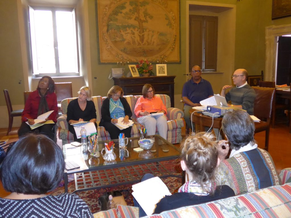 Leadership for Social Justice Retreat, Mercatello sul Metauro, Italy June 2016