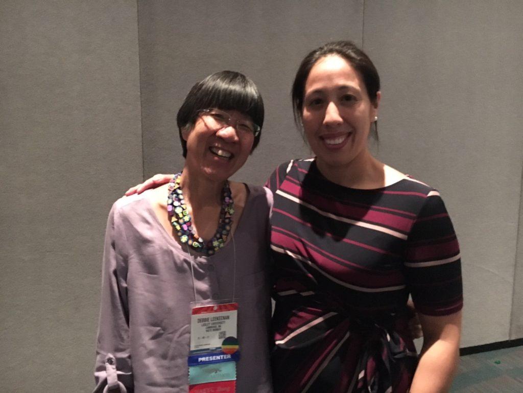 Debbie LeeKeenan and Iris Chin Ponte